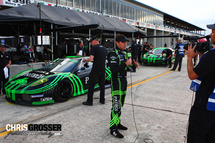 Sebring-Le-Mans-Winter-Testing-Ferrari-F430-GT-Tequila-Patron-Extreme-Speed-Motorsports-side-pits-driver-1513.jpg