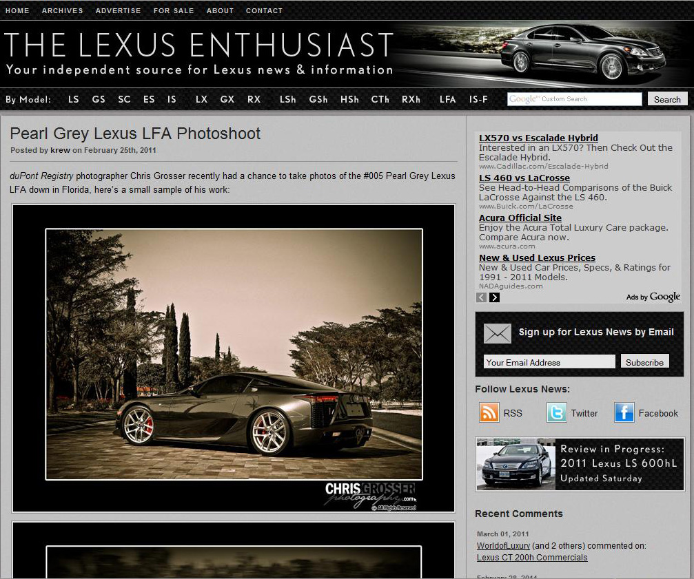 Lexus Enthusiast LFA Article.jpg